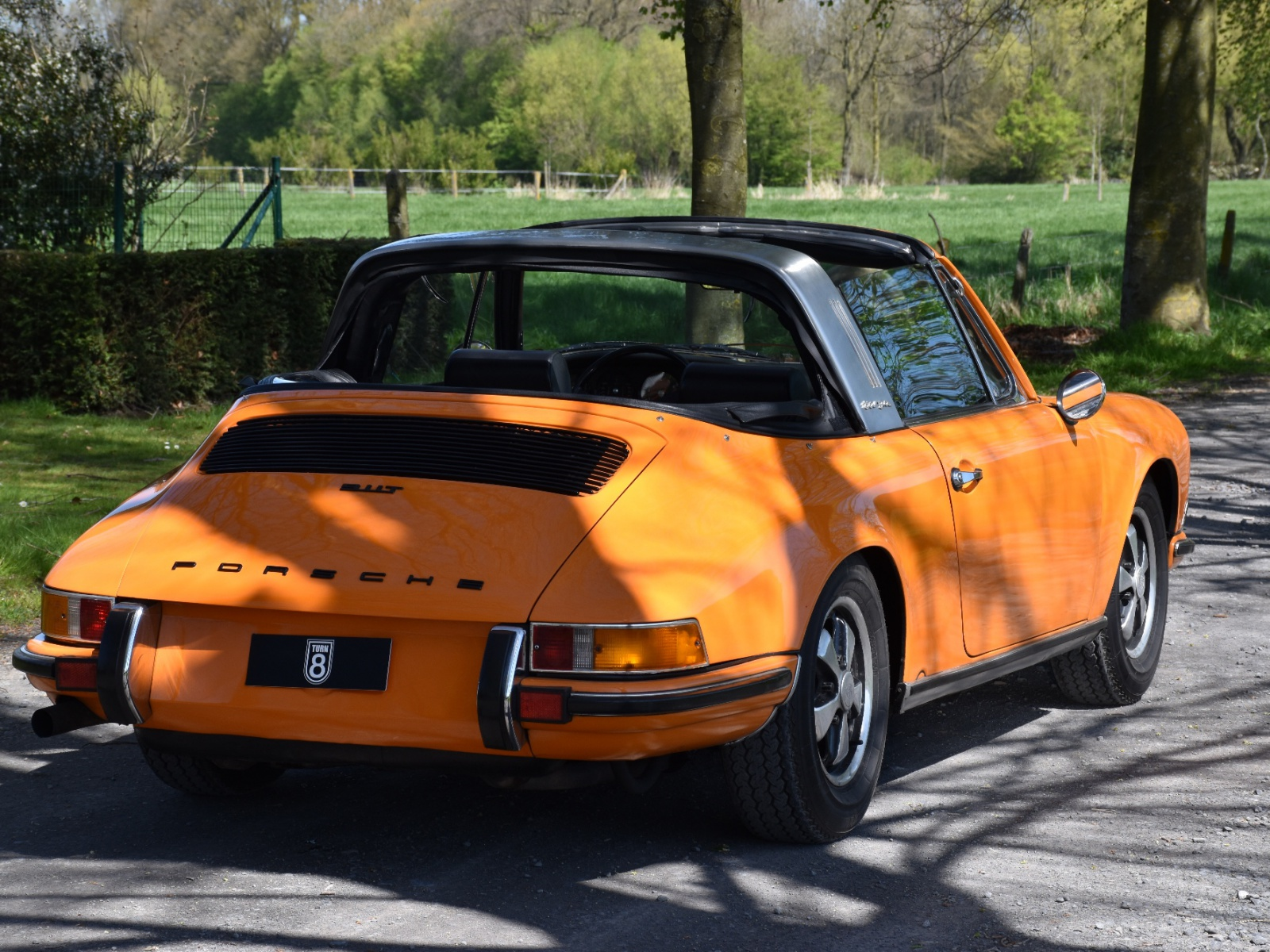 1971 Porsche 911 2 2t Soft Window Targa Turn8 Cars
