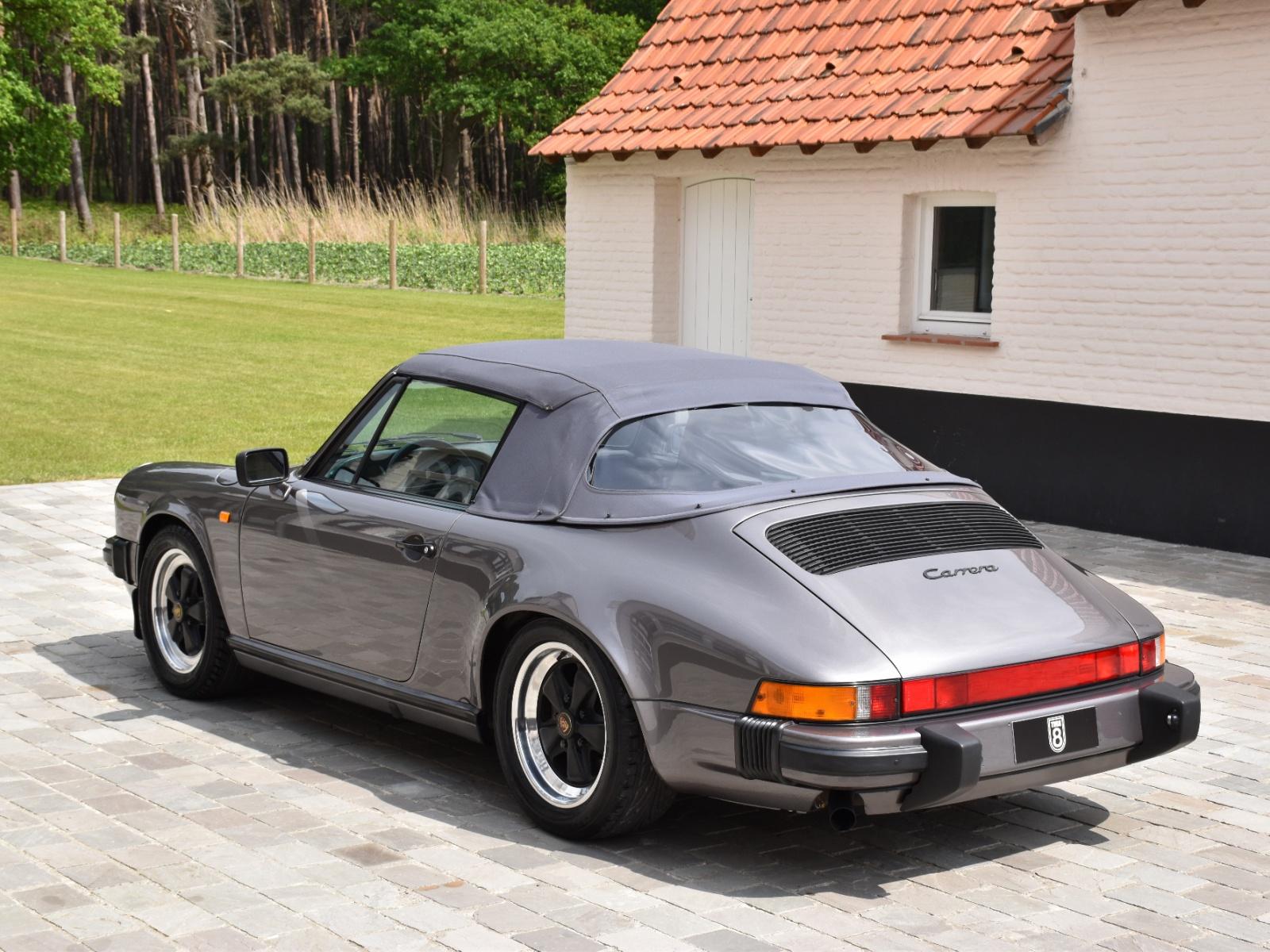 1989 Porsche 911 3 2 Convertible Turn8 Cars