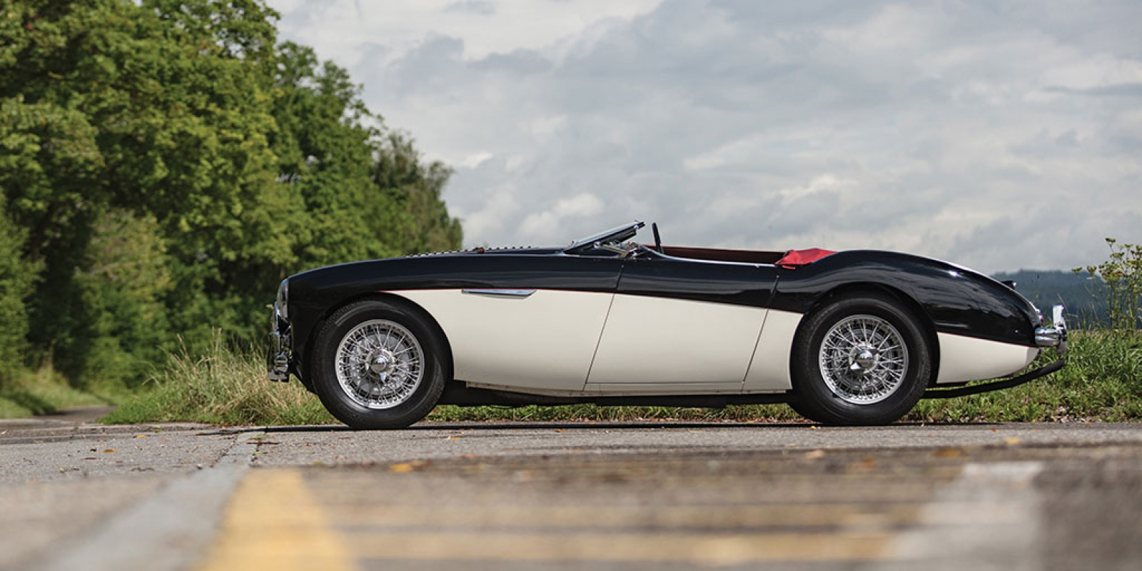 1955 Austin-Healey 100-4 Le Mans Upgrade from new